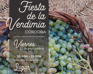 VII Edición Fiesta de la Vendimia en Córdoba