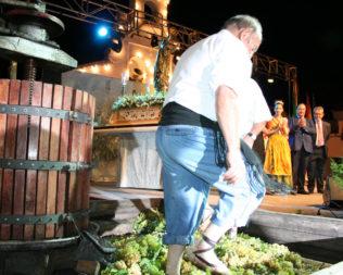 Fiesta de la Vendimia: Pisa de la Uva