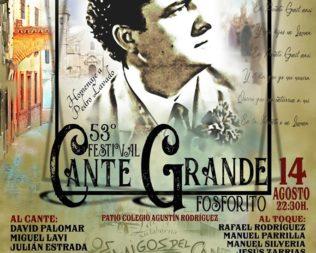 53ª edición del Festival de Cante Grande Fosforito