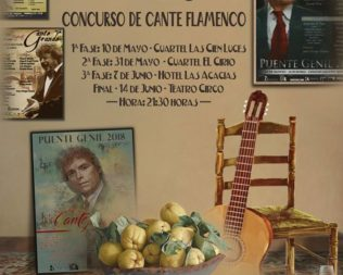 Fase final del concurso de cante flamenco «Membrillo de Oro 2019»