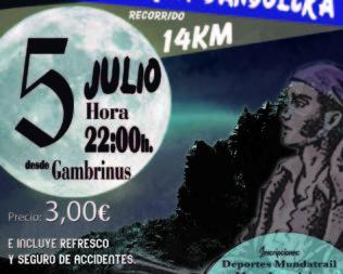 Marcha senderista nocturna Bandolera 2019