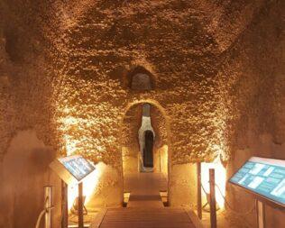 Visita a las Cisternas Romanas de Monturque y de la bodega lagar El Monte de Moriles