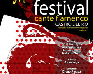 Mecedora de olivo: Festival cante flamenco