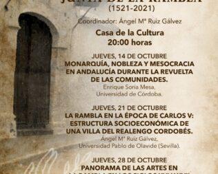 II Ciclo de conferencias del V Centenario de La Liga de La Rambla
